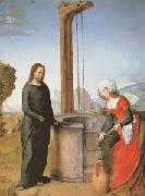 Juan de Flandes Christ and the Woman of Samaria (mk05) oil painting picture wholesale