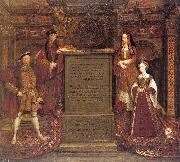 Leemput, Remigius van Copy after Hans Holbein the Elder's lost mural at Whitehall oil painting artist