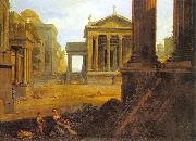 Lemaire, Jean Square in an Ancient City oil painting picture wholesale