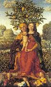 Libri, Girolamo dai The Virgin and Child with Saint Anne oil painting picture wholesale