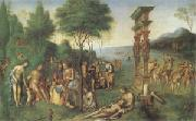 Lorenzo Costa The Reign of Comus (mk05) oil painting artist