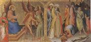 Lorenzo Monaco The Meeting between st James Major and Hermogenes (mk05) oil painting artist