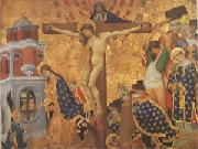 Lorenzo Monaco The Crucifixion (mk05) oil painting artist