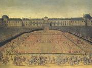 Louis XIV s Grande Carrousel (mk05) oil painting picture wholesale