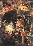 MENGS, Anton Raphael The Adoration of the Shepherds oil painting picture wholesale