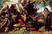 Maclise, Daniel King Cophetua and the Beggarmaid oil painting picture wholesale