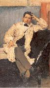 Maliavin, Philip Portrait of the Artist Konstantin Somov oil painting artist