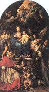 Maratta, Carlo Madonna and Child Enthroned with Angels and Saints oil painting artist