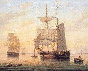 Mellen, Mary Blood Taking in Sails at Sunset oil painting picture wholesale