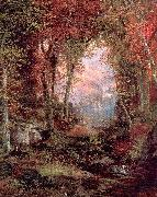 Moran, Thomas The Autumnal Woods oil painting artist