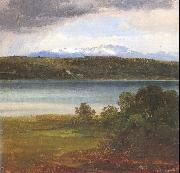Morgenstern, Christian View Across Lake Starnberg to the Benediktenwand oil painting picture wholesale