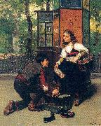 Mosler, Henry A Fair Exchange oil painting picture wholesale