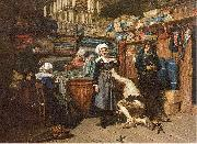 Mosler, Henry Buying the Wedding Trousseau oil painting picture wholesale