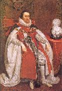 Mytens, Daniel the Elder James I of England oil painting picture wholesale