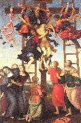 PERUGINO, Pietro The Deposition from the Cross oil painting picture wholesale