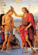 PERUGINO, Pietro The Baptism of Christ oil painting picture wholesale