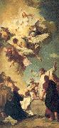 PIAZZETTA, Giovanni Battista The Assumption of the Virgin oil painting picture wholesale