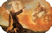 PIAZZETTA, Giovanni Battista Elijah Taken up in a Chariot of Fire oil painting picture wholesale