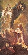 PIAZZETTA, Giovanni Battista The Virgin Appearing to St. Philip Neri oil painting picture wholesale