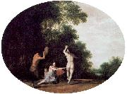 POELENBURGH, Cornelis van Nymphs and Satyr oil painting picture wholesale