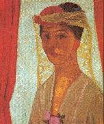 Paula Modersohn-Becker Self-Portrait oil painting artist