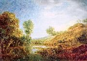Peeters, Gilles Landscape with Hills oil painting artist
