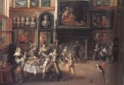 Peter Paul Rubens The Great Salon of Nicolaas Rockox's House (mk01) oil painting picture wholesale