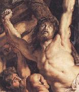 Peter Paul Rubens The Raising of the Cross (mk01) oil painting picture wholesale