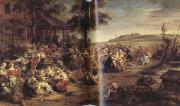 Peter Paul Rubens Flemisb Kermis or Kermesse Flamande (mk01) oil painting picture wholesale