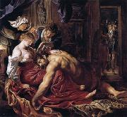 Peter Paul Rubens Samson and Delilab (mk01) oil painting picture wholesale