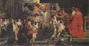 Peter Paul Rubens Coronation of Marie de'Medici (mk05) oil painting picture wholesale