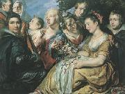 Peter Paul Rubens The Artist with the Van Noort Family (MK01) oil painting picture wholesale