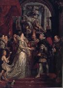 Peter Paul Rubens The Wedding by Proxy of Marie de'Medici to King Henry IV (MK01) oil painting picture wholesale