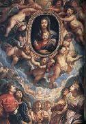 Peter Paul Rubens The Virgin and Child Adored by Angels (mk01) oil painting picture wholesale