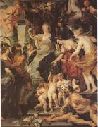 Peter Paul Rubens The Happiness of the Regency (mk05) oil painting picture wholesale