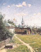 Polenov, Vasily Moscow Courtyard oil painting picture wholesale