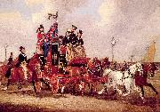 Pollard, James The Last Mail Leaving Newcastle, July 5, 1847 oil painting picture wholesale