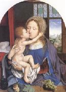 Quentin Massys The Virgin and Child (mk05) oil painting artist
