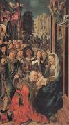 Ulrich apt the Elder The Adoration of the Magi (mk05) oil painting artist