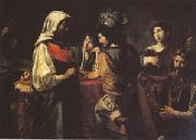 VALENTIN DE BOULOGNE The Fortune Teller (mk05) oil painting picture wholesale