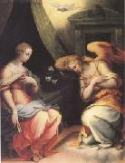 VASARI, Giorgio The Annunciation (mk05) oil painting picture wholesale