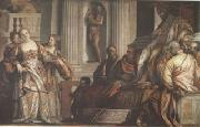 VERONESE (Paolo Caliari) Esther before Ahasuerus (mk05) oil painting picture wholesale