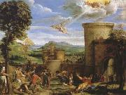 Annibale Carracci The Martyrdom of St Stephen (mk08) oil