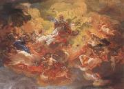 Baciccio The Apotheosis of St Ignatius (mk08) oil painting artist