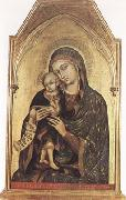 Barnaba Da Modena Madonna and Child (mk080 oil painting artist