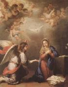 Bartolome Esteban Murillo Annunciation (mk08) oil painting picture wholesale