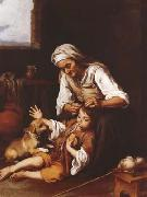 Bartolome Esteban Murillo The Toilette (mk08) oil painting picture wholesale