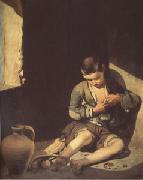Bartolome Esteban Murillo The Young Beggar (mk05) oil painting picture wholesale