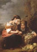 Bartolome Esteban Murillo The Little Fruit Seller (mk08) oil painting picture wholesale