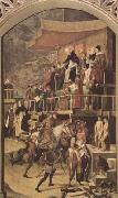 BERRUGUETE, Pedro Court of Inquisition chaired by St Dominic (mk08) oil painting picture wholesale